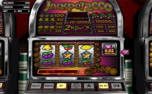 Play slots at Superbet Palace: Superbet Palace featuring the Video Slots Jackpot 2000 with a maximum payout of $10,000