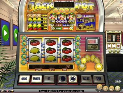 LaFiesta featuring the Video Slots Jackpot 6000 with a maximum payout of $6,000