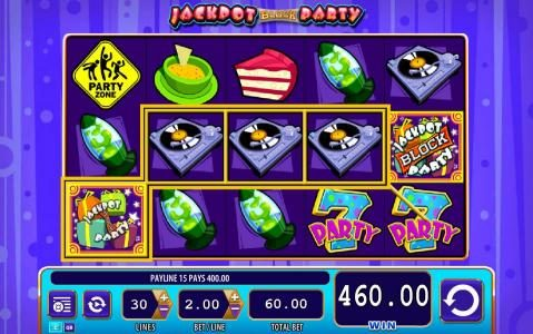 Play slots at Casino Red Kings: Casino Red Kings featuring the Video Slots Jackpot Block Party with a maximum payout of $250,000