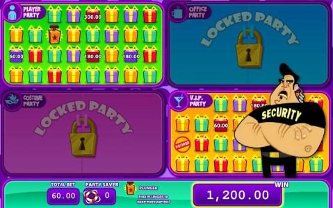 Jackpot Block Party :: game ends when pooper symbol is revealed