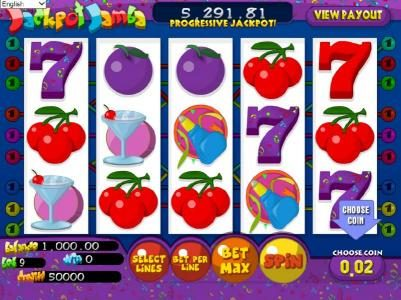 Play slots at Wizbet: Wizbet featuring the Video Slots Jackpot Jamba with a maximum payout of $25,000
