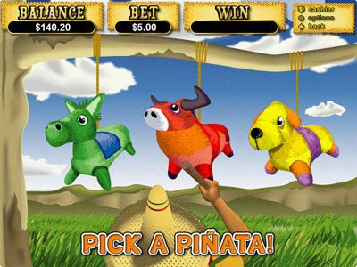 High Noon featuring the Video Slots Jackpot Pinatas with a maximum payout of $12,500