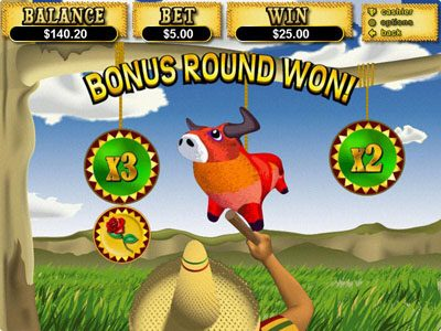 Palace of Chance featuring the Video Slots Jackpot Pinatas with a maximum payout of $12,500
