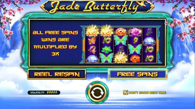 Play slots at Tangiers: Tangiers featuring the Video Slots Jade Butterfly with a maximum payout of $20,000