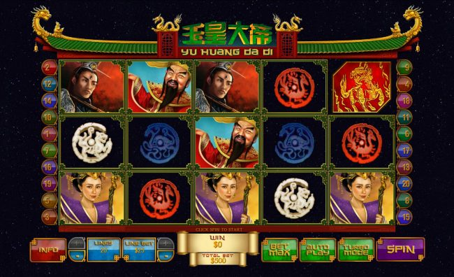 Play slots at Carnival: Carnival featuring the Video Slots Jade Emperor with a maximum payout of $250,000