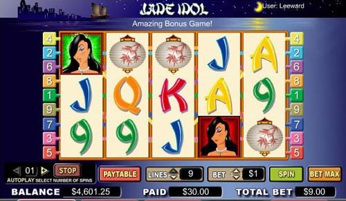 Play slots at Intercasino: Intercasino featuring the video-Slots Jade Idol with a maximum payout of 10,000x
