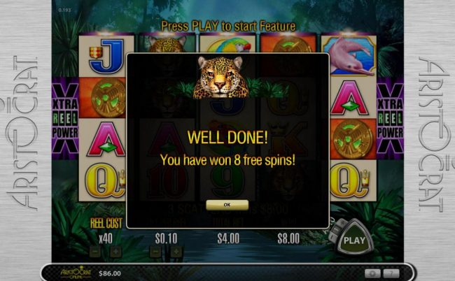 Red Queen featuring the Video Slots Jaguar Mist with a maximum payout of $12,000