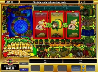 Play slots at Music Hall: Music Hall featuring the Video Slots Jamaican-A-Fortune! with a maximum payout of $5,000