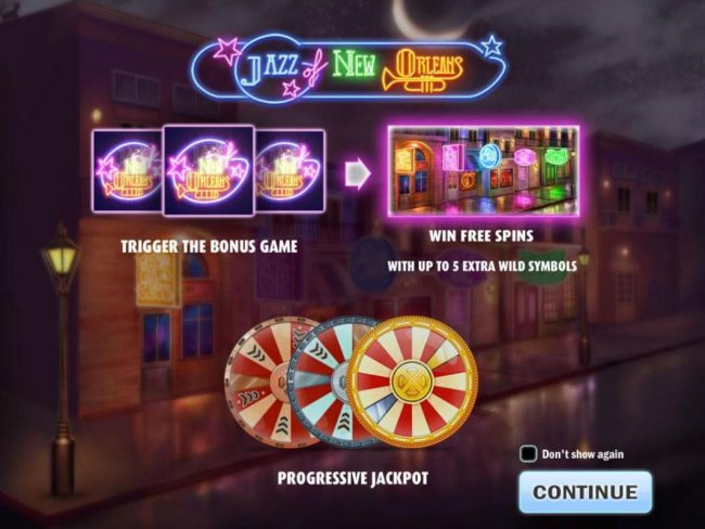 Play slots at Big5 Casino: Big5 Casino featuring the Video Slots Jazz of New Orleans with a maximum payout of $150,000