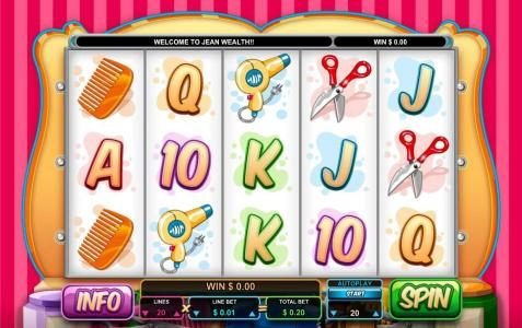 Red Queen featuring the Video Slots Jean Wealth with a maximum payout of $50,000