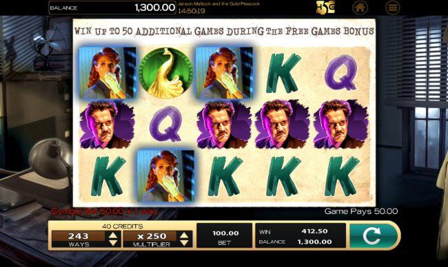 Jensen Matlock Gold Peacock :: A winning three of a kind