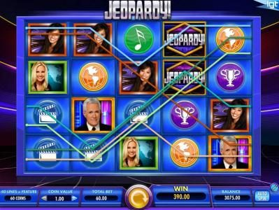 Secret Slots featuring the Video Slots Jeopardy! with a maximum payout of $250,000