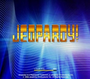 Jeopardy :: Splash screen - game loading