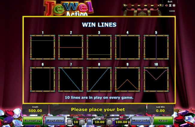 Quasar featuring the Video Slots Jewel Action with a maximum payout of $50,000