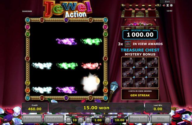 Jewel Action :: Joker symbol removes all symbols