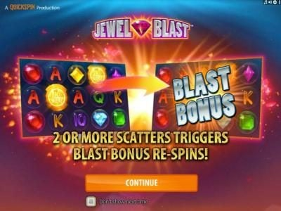 Play slots at 7Bit: 7Bit featuring the Video Slots Jewel Blast with a maximum payout of $50,000
