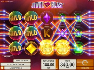 Casimba featuring the Video Slots Jewel Blast with a maximum payout of $50,000