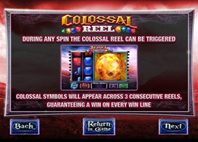 Spinrider featuring the Video Slots Jewel Strike with a maximum payout of $125.000