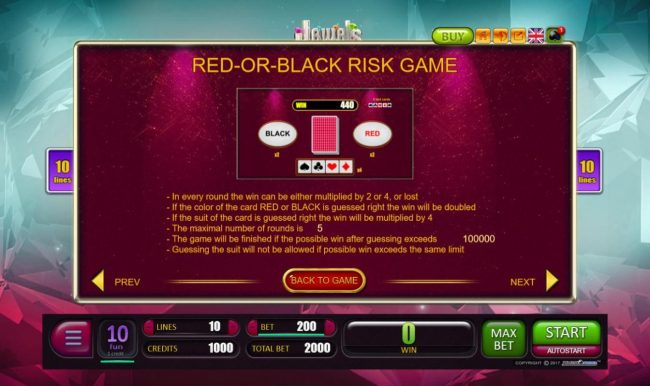 Red or Black Risk Game Rules