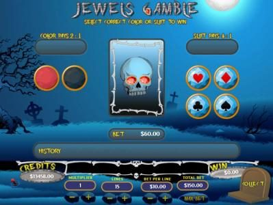 Mission 2 Game featuring the Video Slots Jewels of the Dead with a maximum payout of Jackpot