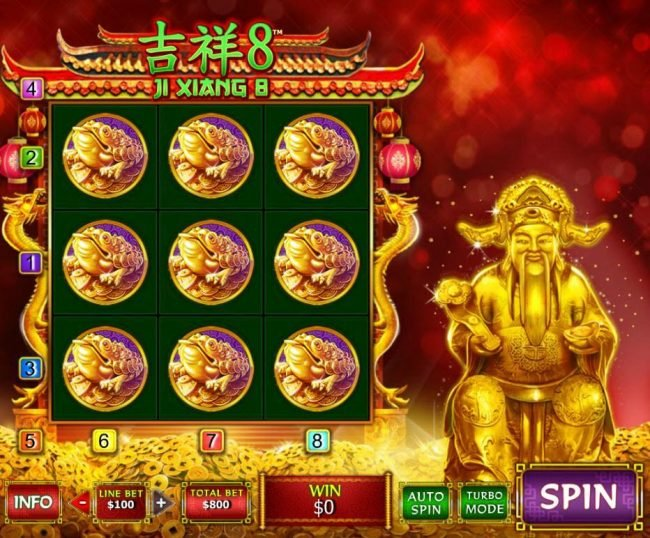 Play slots at Grand Reef: Grand Reef featuring the Video Slots Ji Xiang 8 with a maximum payout of $888,800