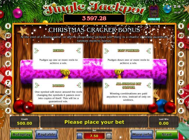 Cracker Bonus