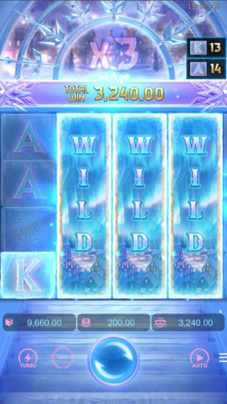 Jack Frost's Winter Infinity Reels :: Big Win