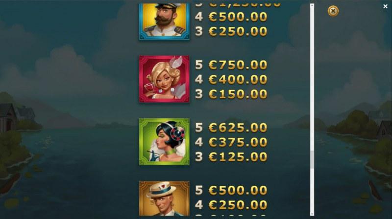 Jackpot Express :: Paytable - High Value Symbols