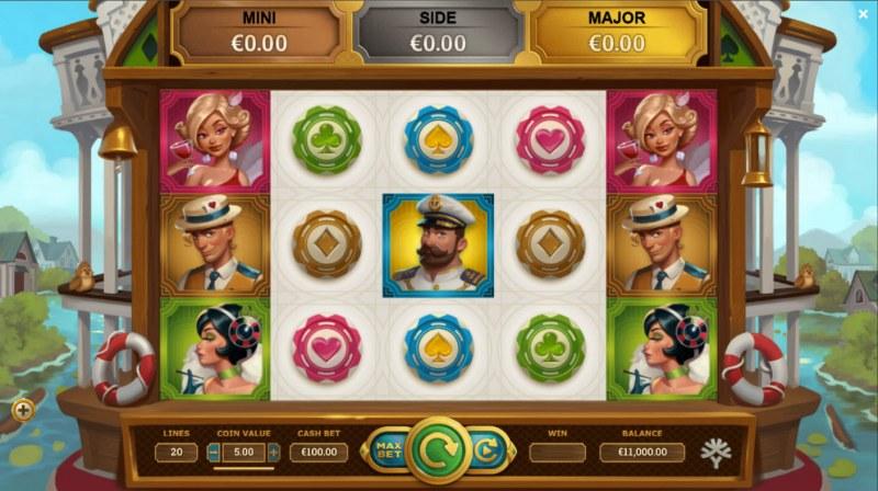 Jackpot Express :: Main Game Board