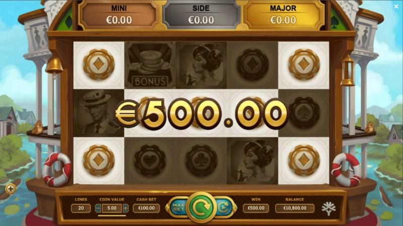 Jackpot Express :: A five of a kind win