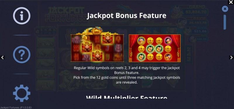 Jackpot Fortunes :: Jackpot Rules