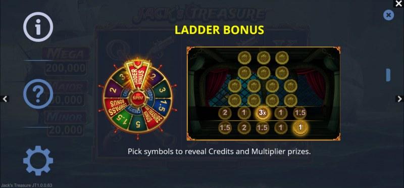 Jack's Treasure :: Ladder Bonus