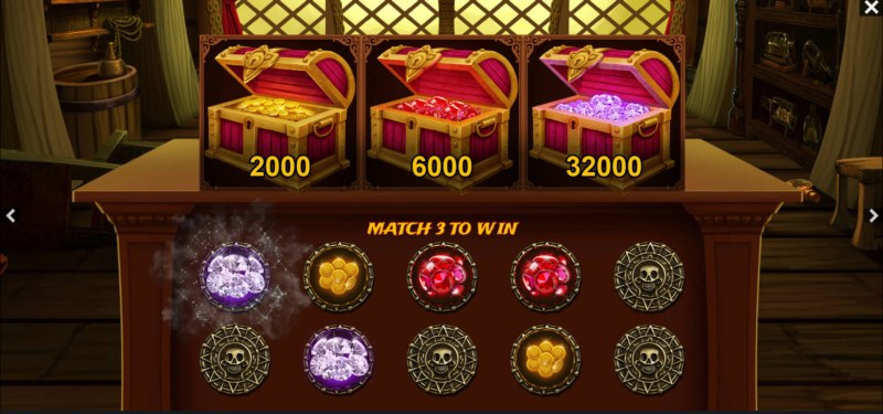 Jack's Treasure :: Match three and win