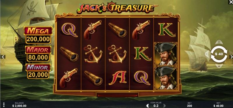 Jack's Treasure :: Main Game Board