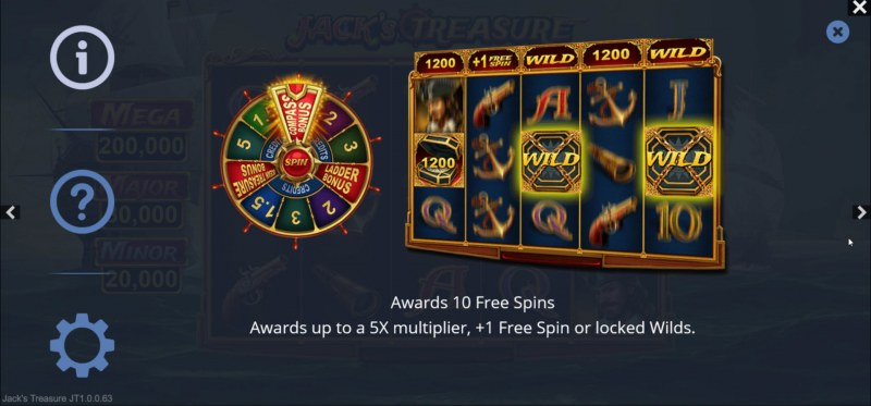 Jack's Treasure :: Free Spin Feature Rules