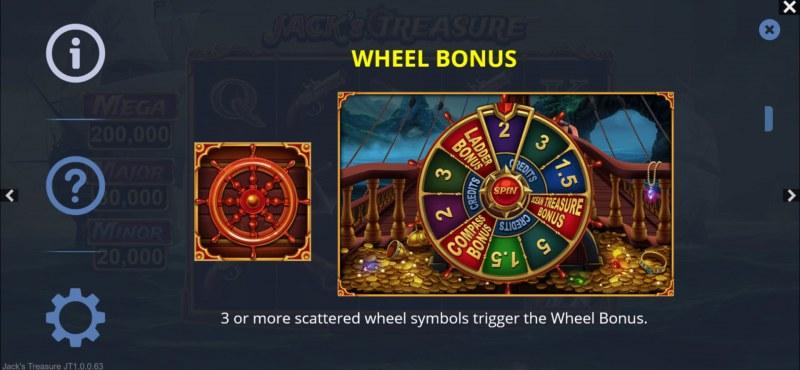 Jack's Treasure :: Wheel Bonus