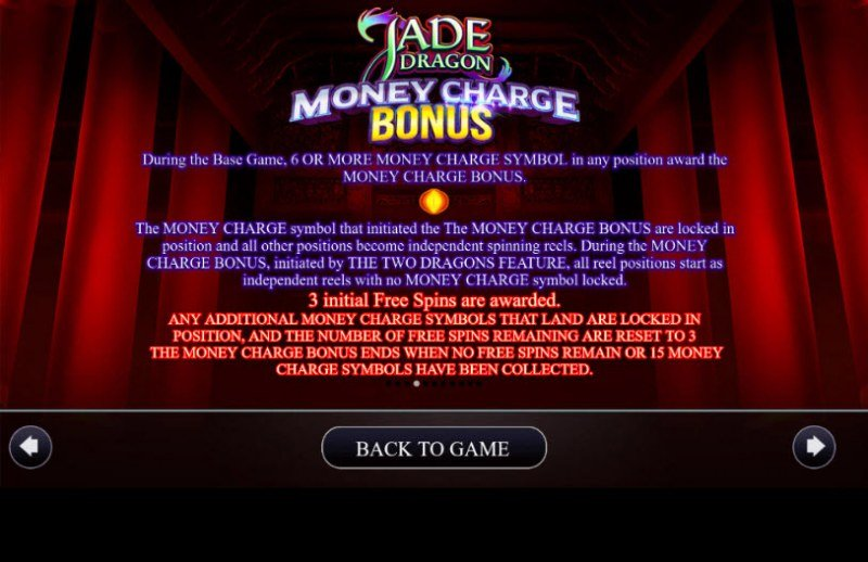 Jade Dragon :: Money Charge Bonus