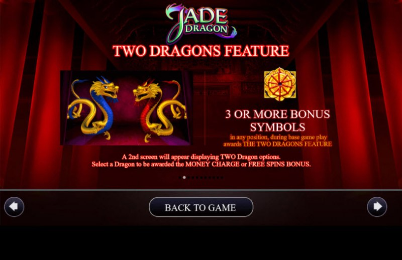Jade Dragon :: Two Dragons feature