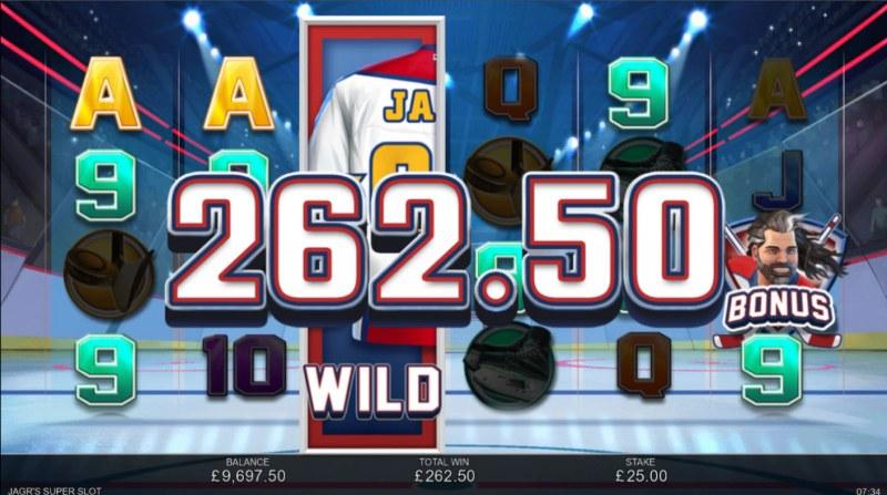 Jagr's Super Slot :: A six of a kind win