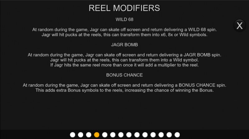 Jagr's Super Slot :: Reel Modifiers