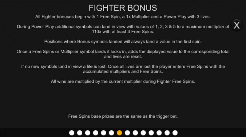 Jagr's Super Slot :: Fighter Bonus