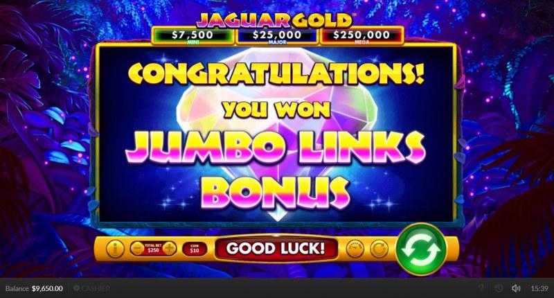 Jaguar Gold :: Bonus Feature
