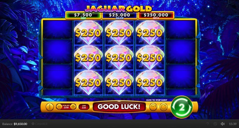 Jaguar Gold :: Fill the reels with diamonds and win big