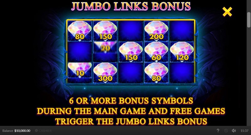 Jaguar Gold :: Jumbo Links Bonus