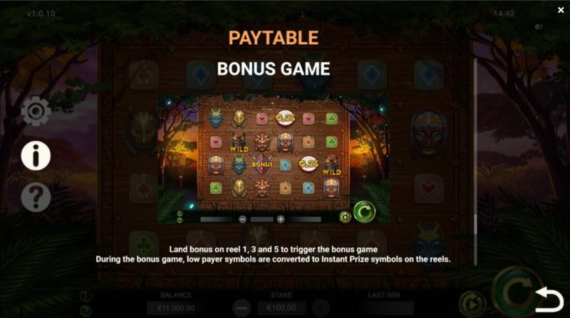 Jambo Cash :: Bonus Feature