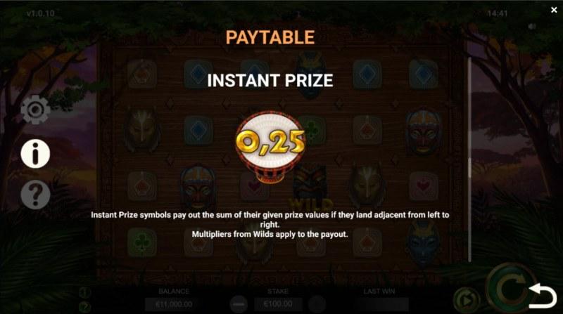 Jambo Cash :: Instant Prize