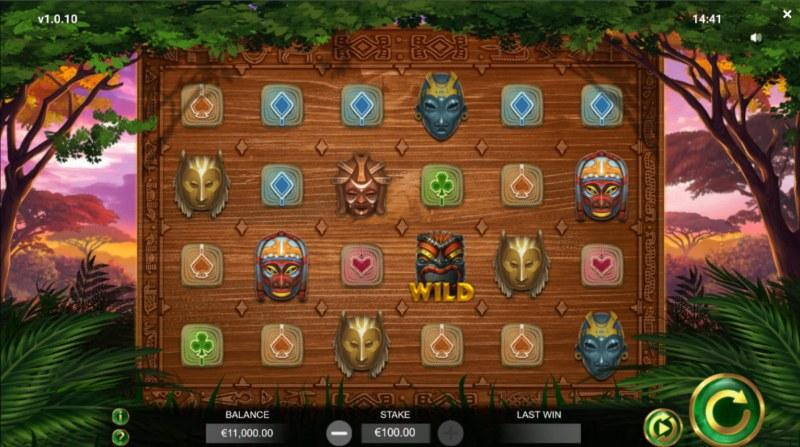 Jambo Cash :: Base Game Screen