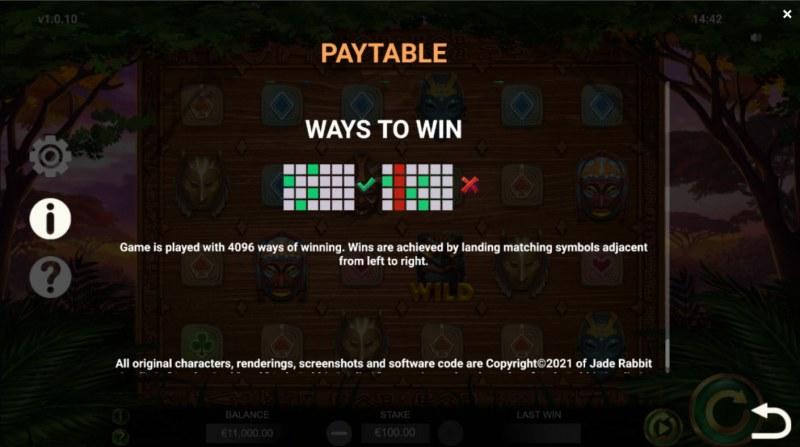 Jambo Cash :: 4096 Ways to Win