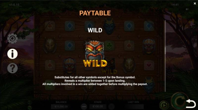 Jambo Cash :: Wild Symbol Rules