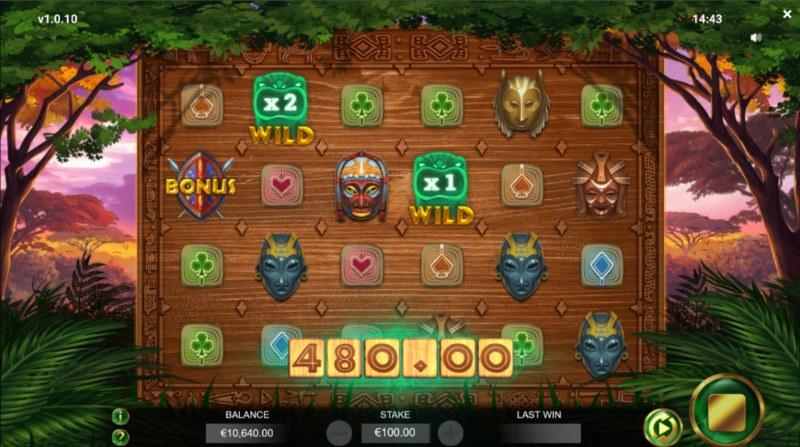 Jambo Cash :: Wild Multipliers